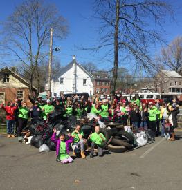 Great Tappan Cleanup, 2016
