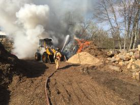 Backhoe Fire, 4/21/16