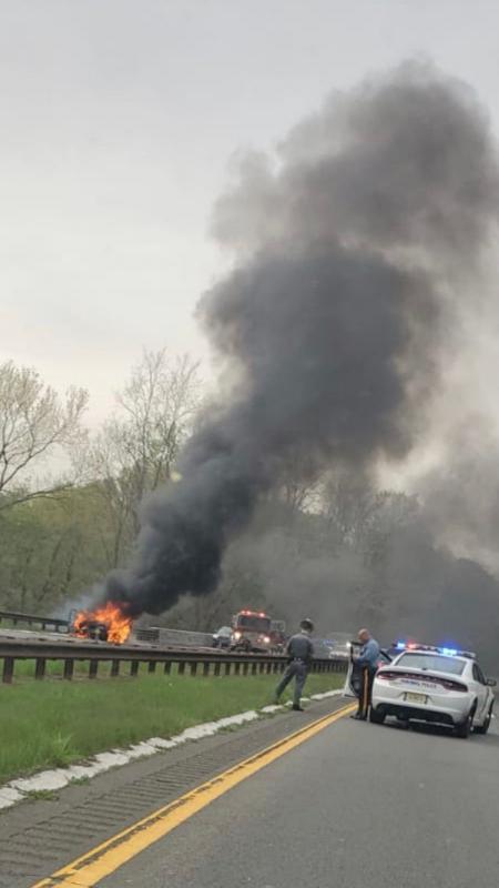 Car Fire, 4/29/2019