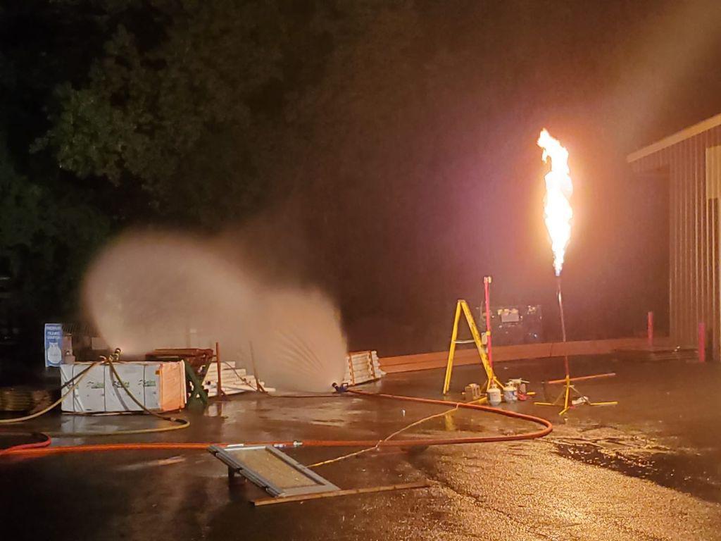 Propane Leak, Orangeburg, 7/17/2019
